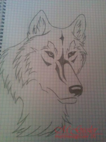 Wolf Tribal