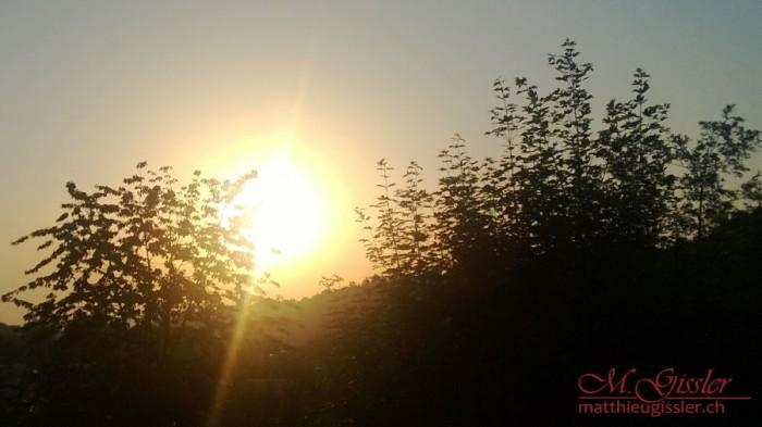 Sonnenaufgang Adligenswil