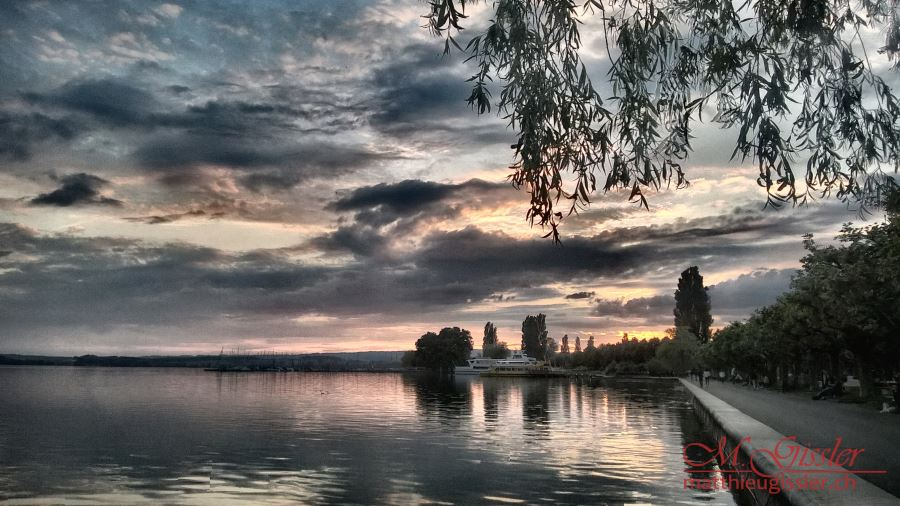 zugersee_abendrot_hdr