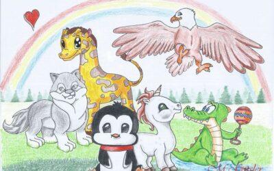 Kinderzeichnung – Tierwelt
