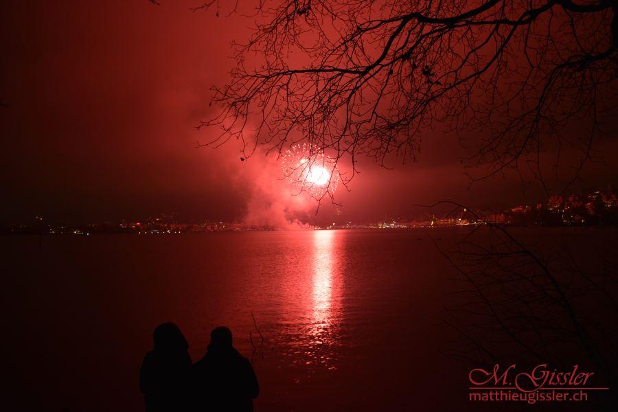 Neujahrsfeuerwerk Luzern 2016