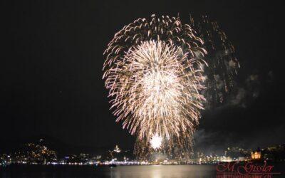 Neujahrsfeuerwerk Luzern 2018